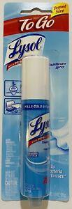 Lysol Disinfectant Spray To Go Crisp Linen Aerosol