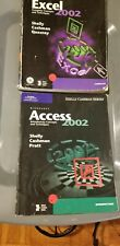 Excel and Access 2002 Microsoft Manuals Books