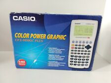Casio CFX-9850GC Plus Color Power Graphic Calculator Boxed With Dutch Manual