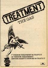 1/8/81PN40 THE GAS : TREATMENT ADVERT 7X5