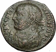 Constantine I The Great 313AD Ancient Roman Coin Zeus Jupiter Cult  i50707