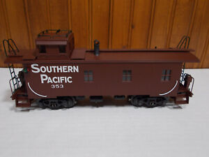 Rare K-LINE K616-2031 SOUTHERN PACIFIC 353 ltd SMOKING off-center CUPOLA Caboose