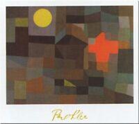 FINE ART PRINT POSTER 24x32-324 KLEE INCENDIO SOTTO LA LUNA PIENA