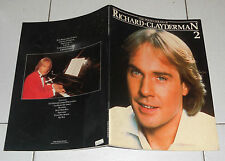Spartiti The Piano solos of RICHARD CLAYDERMAN Vol 2 PIANO VOCAL Songbook Sheet