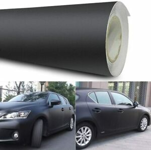Black Matt Vinyl Car Wrap Film Sticker Air Bubble Free