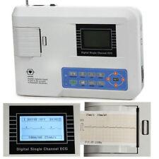 FDA Portable Digital single channel 12 Lead Electrocardiograph ECGEKG Machine