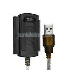 "Durable USB 2.0 to 2.5"" 44pin 3.5"" 40pin IDE SATA Hard Drive Converter Cable"