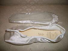 Capezio Ballet Shoe Teknik White Satin 753 NIB Wedding