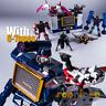 Transformed G1 THF Soundwave SIX Cassette Tapes MP-13 Figures FREE Stickers