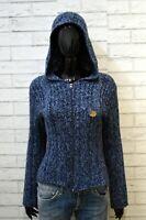 Just Cavalli Maglione Felpa Donna Taglia M Maglia Pullover Sweater Cardigan Lana