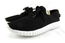 Women's Slip On Mesh Casual Comfortable Athletic Walking Shoes Black Size 8