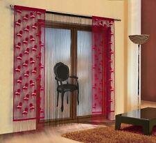SUPERBE GRAND Lot de frange rideau filet avec panneaux - Fauteuil design