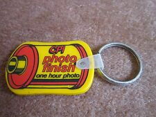 CPI 1 Hour Photo Finish Keychain Key Ring Collectible Looks like 35mm film roll