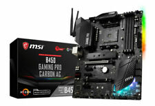 MSI B450 GAMING PRO CARBON AC AMD ATX Performance Gaming Motherboard