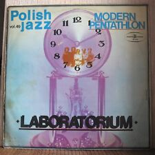 LABORATORIUM - MODERN PENTATHLON -  Polish Jazz vol.40 (Red Labels)