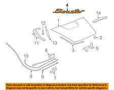 PORSCHE OEM 97-04 Boxster Engine Lid-Emblem Badge Nameplate 9865592370070C