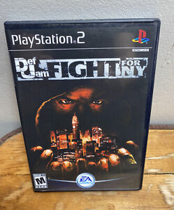 Def Jam Fight for NY PlayStation 2 Case Only