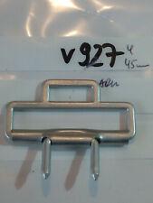 Koppelschloss Feldbinde Gegenstück Aluminium bis 45mm Neu 1 Stück (v927)