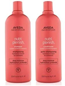 Aveda Nutri Plenish  DEEP MOISTURE 1000ml Shampoo & 1000ml Conditioner