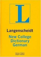 New College German Dictionary Plain (Langenscheidt New College Dictionary) Lang