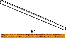 Dodge CHRYSLER OEM-Door Window Sweep-Belt Molding Weatherstrip Right 4805996AE