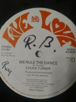 "Chuck Turner-We Rule The Dance 12"" Vinyl Single  UK VERSION"