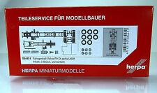 Herpa LKW  084451  LKW-Fahrgestell Volvo FH 3-achs Inhalt: 2 Stück