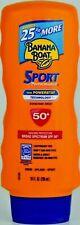 Banana Boat Sport Performance Spf 50+ sunscreen lotion 10 oz ea New