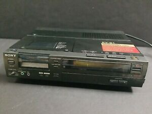 Sony EV-S1 Digital Audio Stereo Transportable Video Cassette Recorder Japan