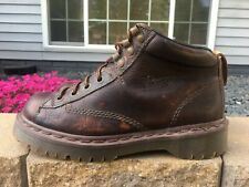 Women's Vintage Dr Martens Air Wair Made In England Leather Boots Size 8