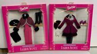 Barbie 1996 Fashion Avenue Outfits : Winter & Fall #15902 Mattel Lot Of 2 NRFB