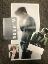 Nu'est W, Here JR Official Photocard, Poster, Card Stand, Album Booklet