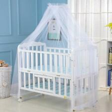 Kids Baby Bed Canopy Bedcover Mosquito Net Curtain Bedding Dome Tent T