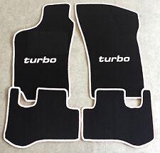 Autoteppich Fußmatten für Fiat Coupe 16V + 20V + Turbo 1993-00' schw./weiss Neu