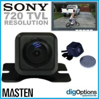 - Universal CCD Reverse Camera Rear & Front View Full HD Colour Night Monitor