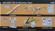 EDUARD 1/48 BIG SIN SE.5a Wolseley Viper 5 BRASSIN SETS (SIN 64841)