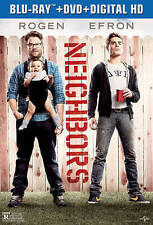 DVD: Neighbors [Blu-ray], Nicholas Stoller. New Cond.: Hannibal free  shipping