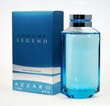 Chrome Legend by Azzaro For Men 4.2oz Eau de Toilette Spray Original Version