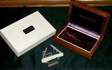 Schrade Walden 848 Knife Marine Pearl Cosmopolitan Circa-1958,Original Packaging