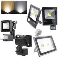 10W 30W 50W 100W LED Flood Light PIR Motion Sensor Spotlight Square 220V AU plug