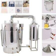 160L 42Gal Alambic Distillateur Avec Eau Pompe Huile Brassage w/Séparateur Kits