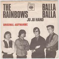 "THE RAINBOWS - Balla Balla/Ju Ju Hand - Rare 1966 German 2-track 7"" vinyl single"
