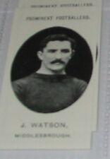 J Watson-Middlesborough Football Soccer CARD