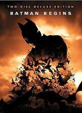 New listing Batman Begins (Dvd, 2005, 2-Disc Set, Deluxe Edition)