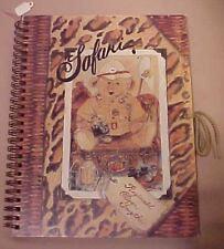 Steiff Safari Reginald Traveling Bear Journal Book 1995