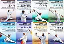 8Dvds Sun Zhijun :Cheng Style Swimming Body Eight Trigram Palm Bagua Series