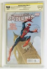 Amazing Spider-Man #1 2015 Variant CBCS 9.8 Signed By Mark Bagley (Not CGC)