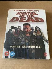 Survival Of The Dead Blu ray NEW & SEALED with Slipcase George A. Romero Horror