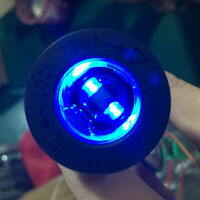 Blue 12V-24V Car Motorcycle Boat Cigarette Lighter Socket Power Plug Outlet New