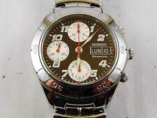 orologio movado kingmatic crono acciaio automatico uomo